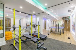 gym in the house