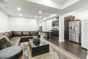 kitchen living room renovation