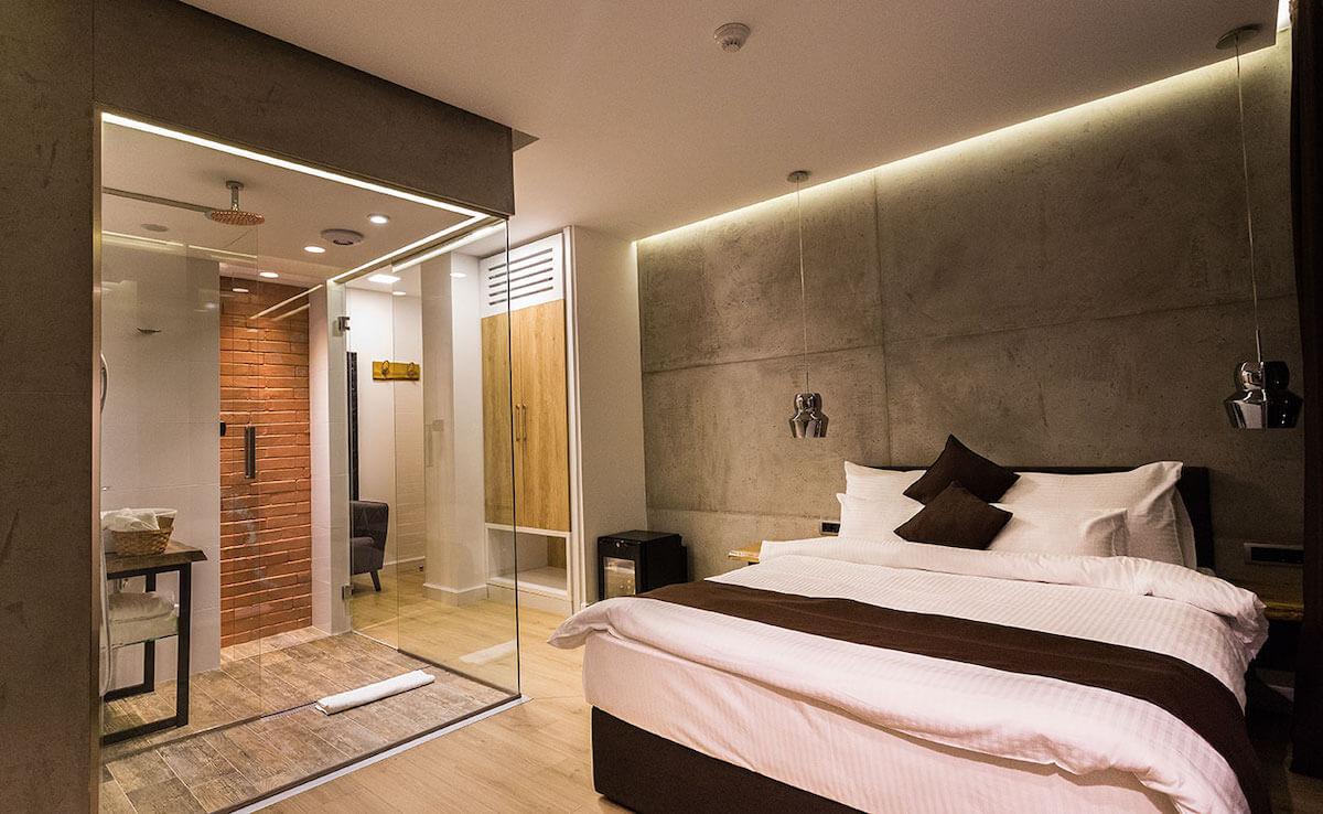 High End Bedroom